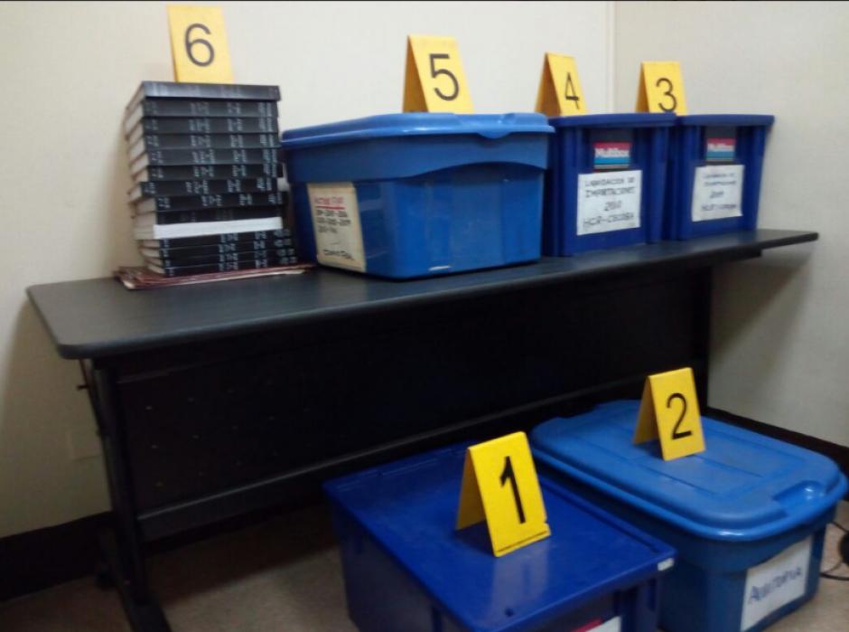 Para ampliar la investigación, fiscales del MP secuestraron documentos contables del hotel. (Foto: MP)