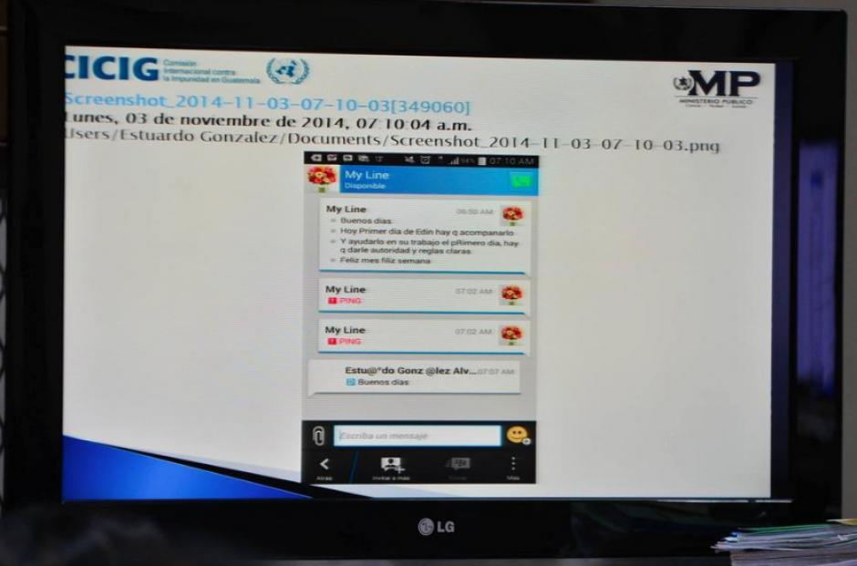 """Además de registros contables, los dispositivos electrónicos de """"Eco"""" permitieron ampliar la información de la participación de los exgobernantes en La Línea. (Foto: Archivo/Soy502)"""