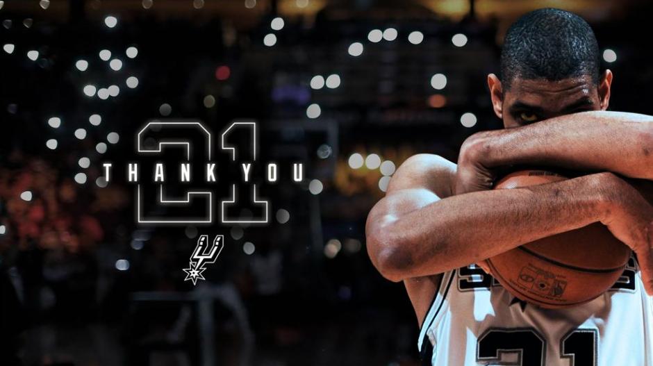 Tim Duncan jugó 19 temporadas en San Antonio. (Foto: Spurs)