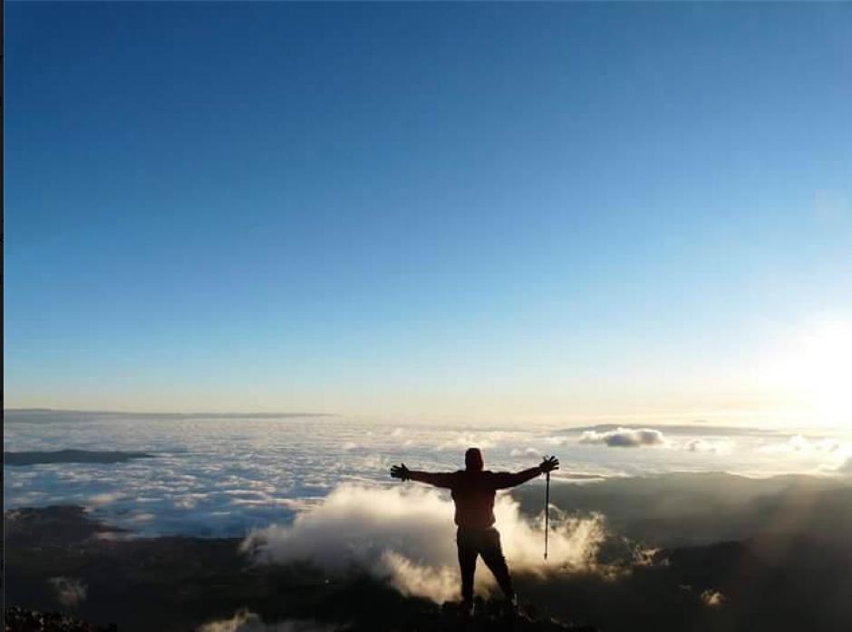 Con varias imágenes la página Guate Tour promocionó el viaje a Tajumulco. (Foto: Facebook/ Guate Tour)