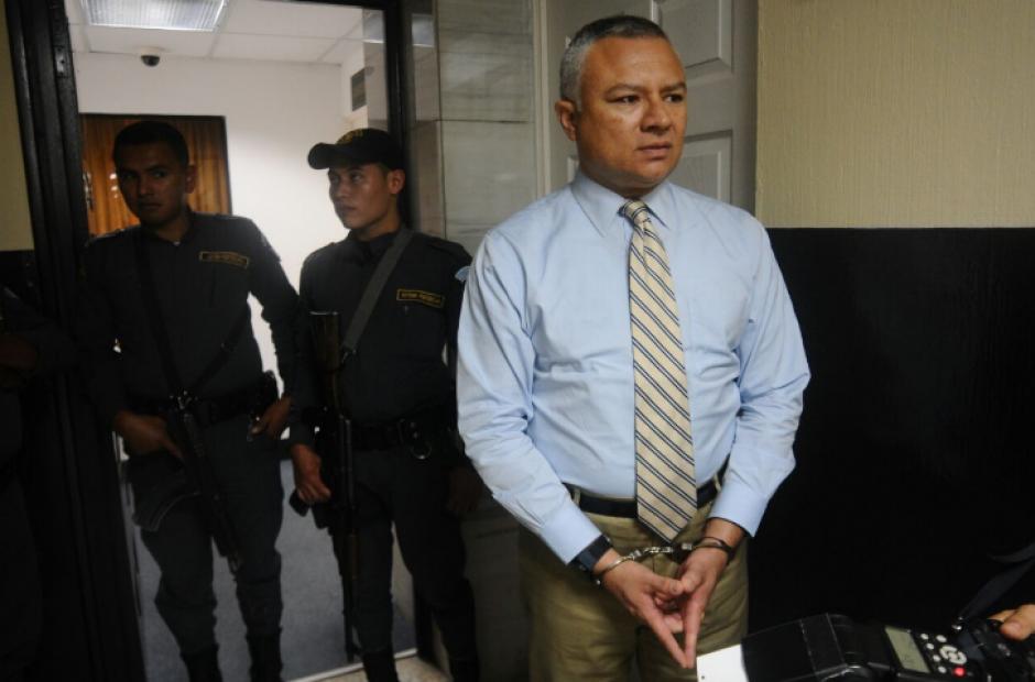 González fue trasladado cerca de dos horas antes del inicio de la audiencia. (Foto: Alejandro Balán/Soy502)