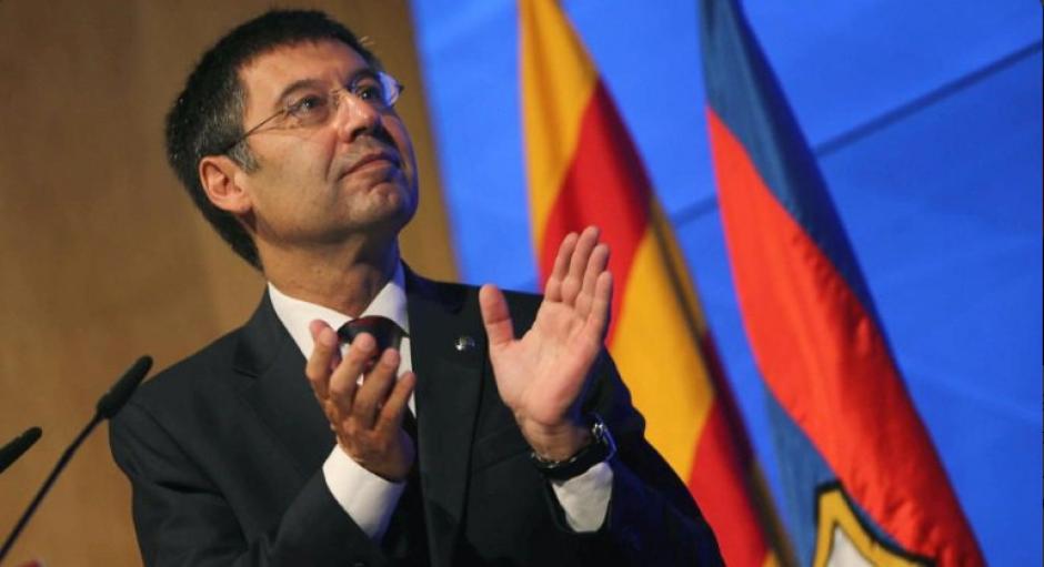 Josep Maria Bartomeu no ha sido claro a la hora de hablar. (Foto: Twitter)