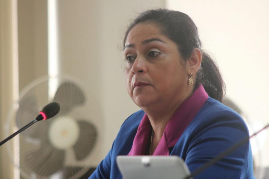 La jueza Jisela Reinoso enfrenta un proceso por enriquecimiento ilícito. (Foto: Alejandro Balán/Soy502)