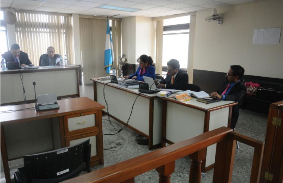 El debate oral contra Reinoso está a cargo del Tribunal Tercero de Sentencia Penal. (Foto: Alejandro Balán/Soy502)