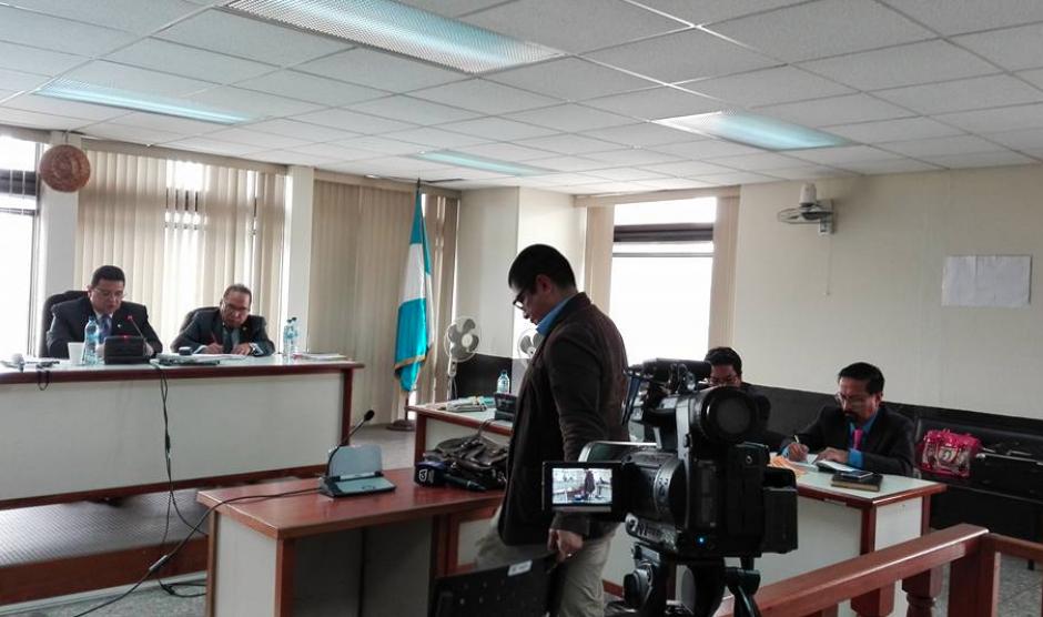 Durante la segunda audiencia se escuchó a dos testigos que rindieron su declaración ante el Tribunal. (Foto: Marcia Zavala/Soy502)