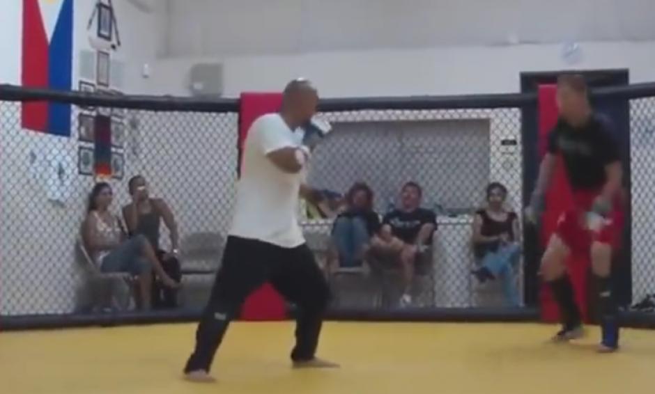 La pelea duró un par de minutos. (Imagen: YouTube)