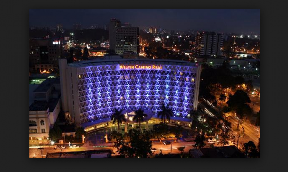 Así es la vista aérea del Hotel Camino Real. (Foto: www.tripadvisor.com)