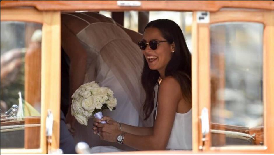 Ana Ivanovic no ha tenido un buen año deportivo, pero sí una feliz boda. (Twitter)