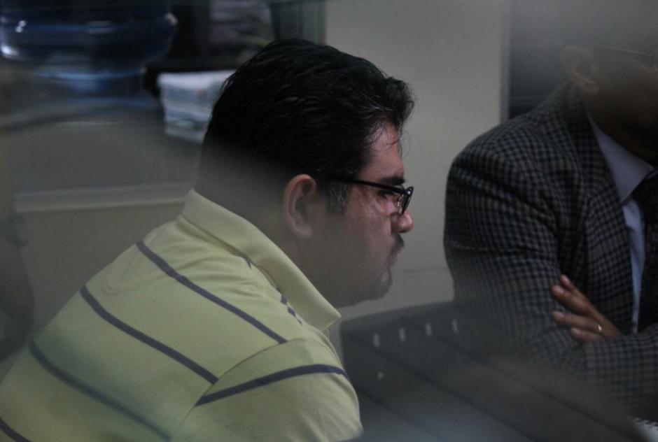 Óscar Jiménez Contreras fue ligado a proceso por los delitos de defraudación tributaria y caso especial de defraudación tributaria. (Foto: Soy502)