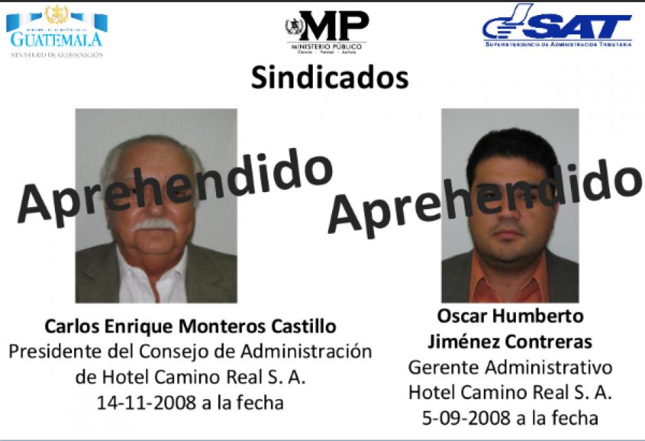 El presidente del Consejo Administrativo del Hotel, Carlos Montero Castillo, también fue detenido por defraudación tributaria. (Foto: MP)