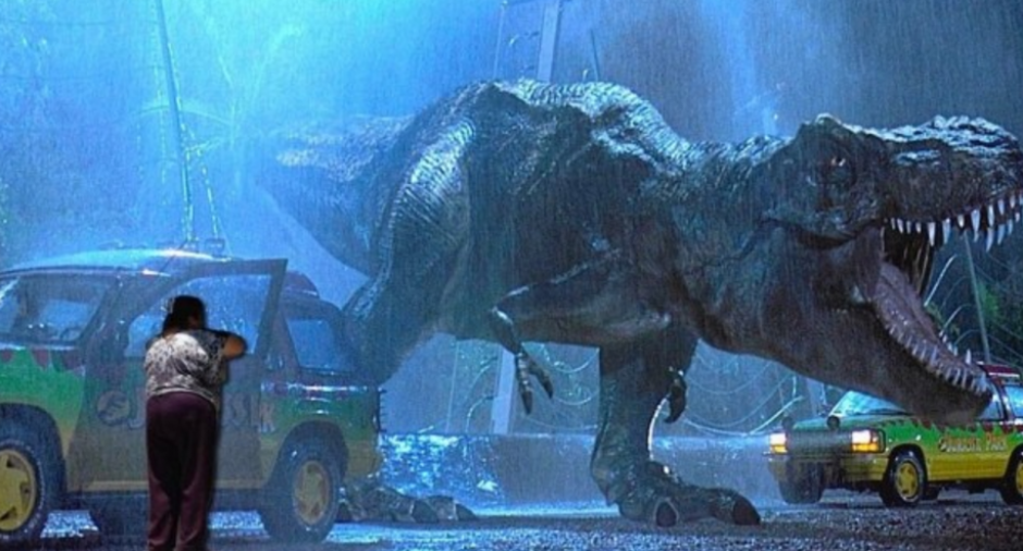 En la épica cinta Jurassic Park figura #LadyMetichona. (Foto: Twitter/buzzfeed.com)