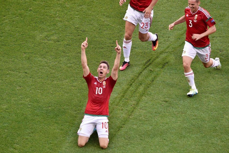 Zoltan Gera marcó el mejor gol de la Euro según los votantes. (AFP)