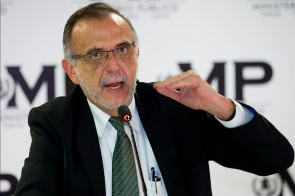 Iván Velásquez, titular de la CICIG, habló sobre Otto Pérez. (Foto: Archivo/Soy502)