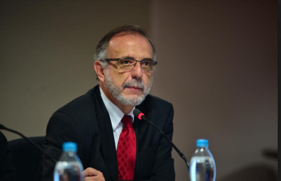 El exmandatario se ha referido de mala manera hacia el Comisionado. (Foto: Archivo/Soy502)
