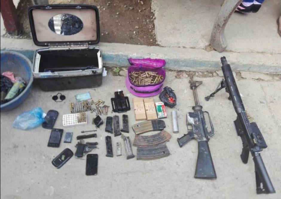 En los operativos del Rescate del Sur se decomisaron armas de alto calibre. (Foto: MP)