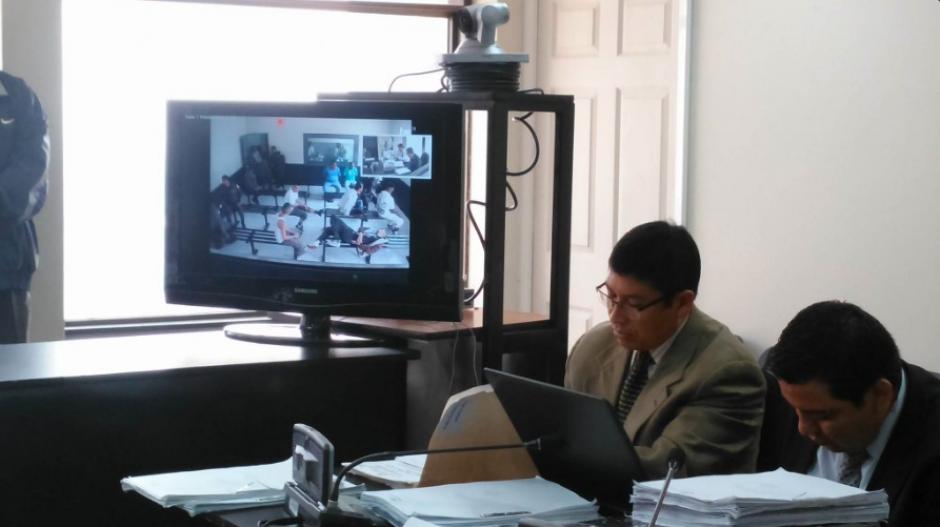 Debido a la gran cantidad de sindicados, se utilizó videoconferencia para las audiencias. (Foto: Nuestro Diario)