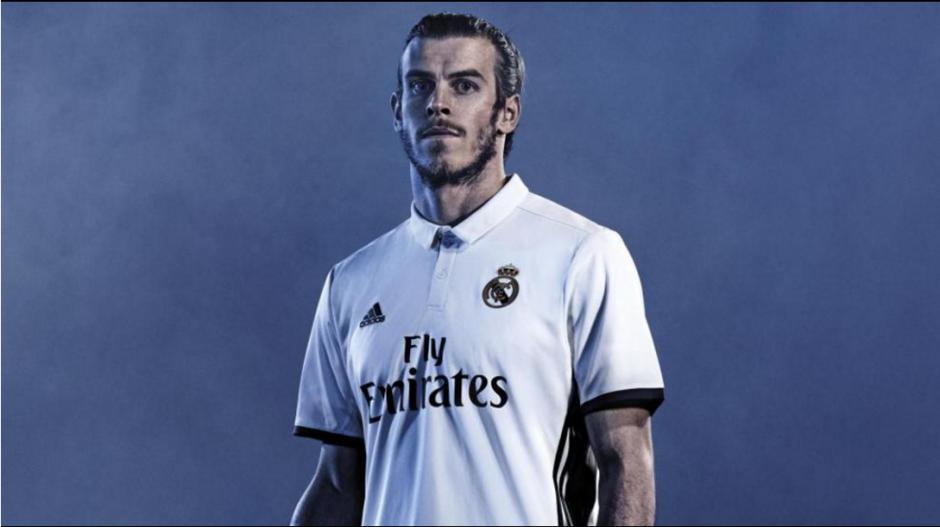 Bale promocionó los nuevos uniformes del Real Madrid. (Foto: Marca)