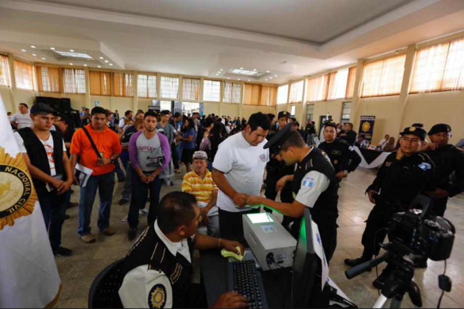 Los 82 implicados en redes de extorsión permanecen en prisión preventiva. (Foto: Nuestro Diario)