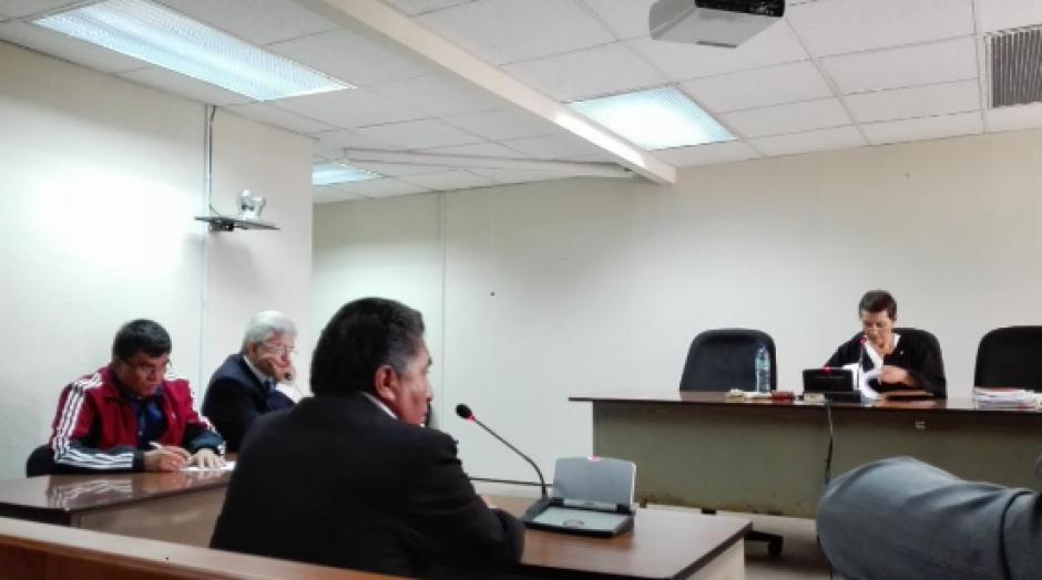 En el segundo día del debate se escuchó la declaración de dos peritos de la Contraloría General de Cuentas.  (Foto: Marcia Zavala/Soy502)
