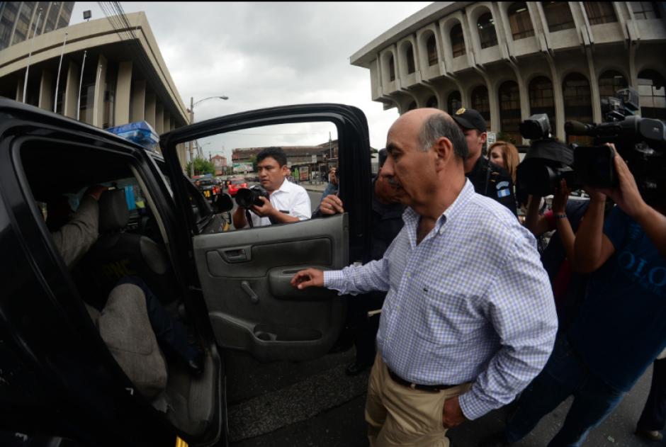 Rojas, también militar retirado, es acusado de peculado. (Foto: Archivo/Soy502)