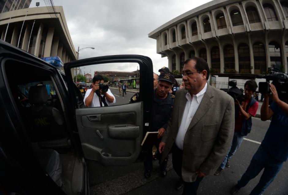 Salán Sánchez, quien es militar retirado es señalado de peculado y encubrimiento. (Foto: Archivo/Soy502)