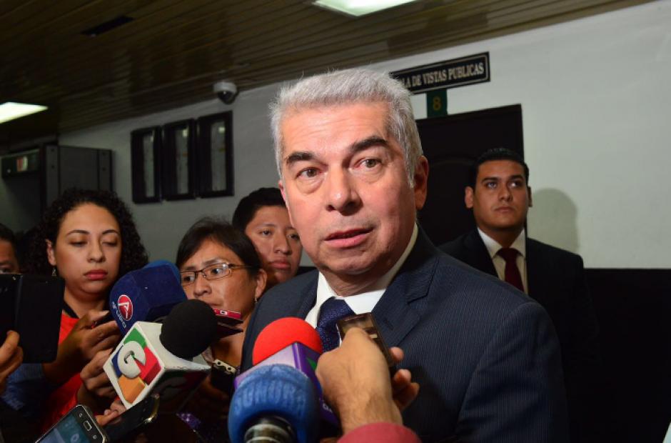 Luis Rabbé explicó el procedimiento de elección y contratación de personal del Congreso. (Foto: Jesús Alfonso/Soy502)