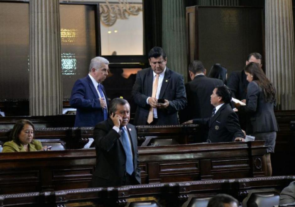 El legislador se ausentó casi por dos meses del Congreso. Reapareció el 12 de julio. (Foto: Jesús Alfonso/Soy502)
