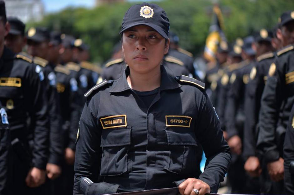 Cerca de 5 mil mujeres forman parte de la institución policial. (Foto: Wilder López/Soy502)