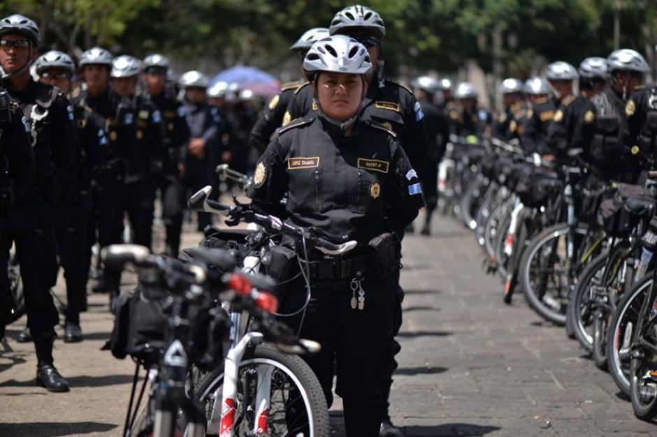 Las mujeres son parte todas las secciones de la Policía Nacional Civil. (Foto: Wilder López/Soy502)