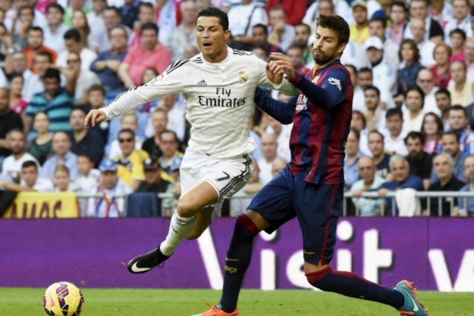 Los juegos entre el Real Madrid y el Barcelona siempre son muy intensos. (Foto: Archivo/Soy502)