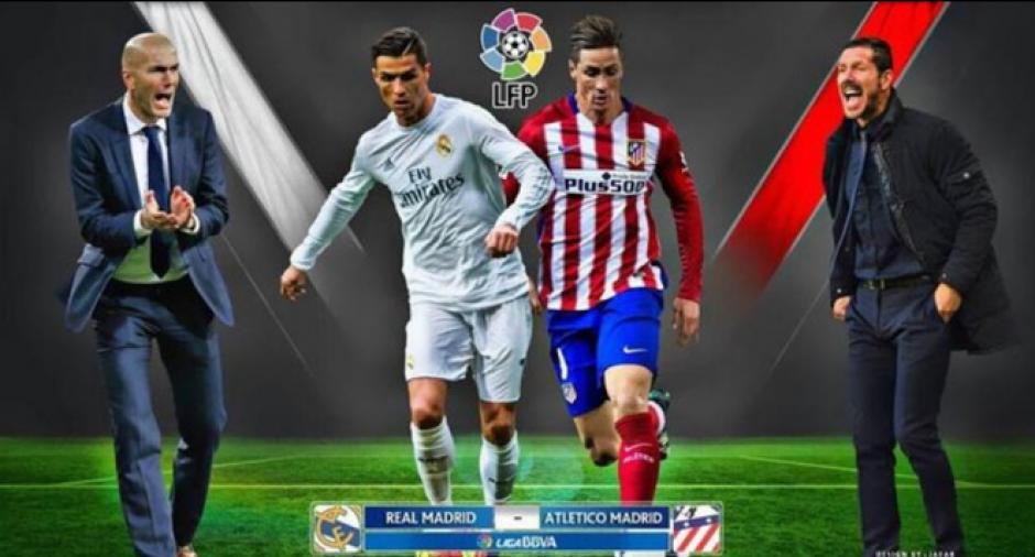 El Real Madrid y el Atlético se enfrentarán el 20 de noviembre. (Foto: Archivo/Soy502)
