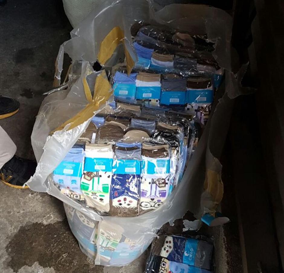 Los lotes robados estaban valorados en más de 1.3 millones de quetzales. (Foto: MP)