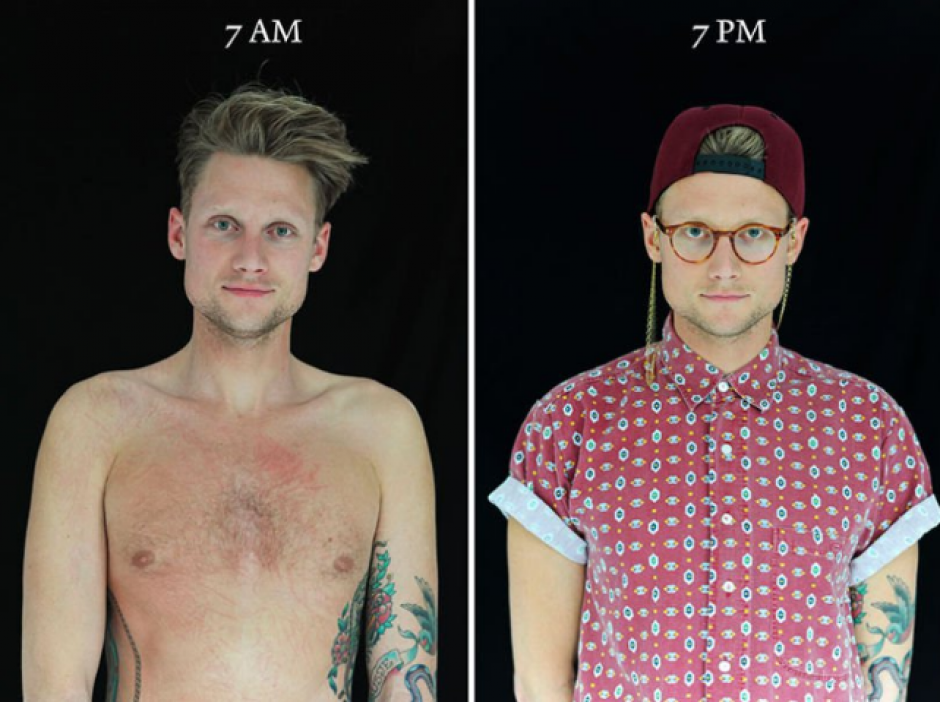 Sin embargo, algunos hombres también cambiaron bastante entre los dos momentos. (Foto: Cultura Inquieta)