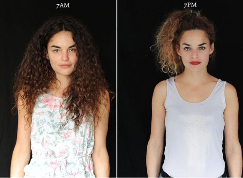 Muchas mujeres sí presentaron un cambio radical debido al maquillaje. (Foto: Cultura Inquieta)