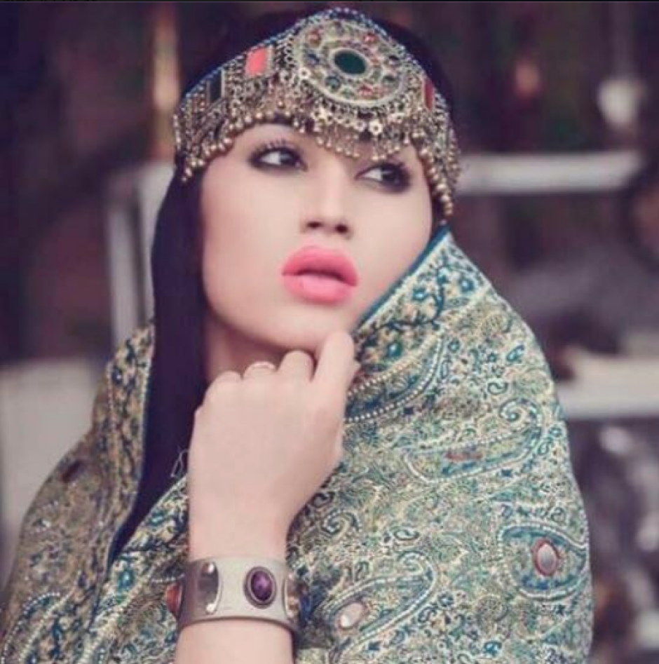 Qandeel Baloch era una modelo, actriz, activista y celebridad de las redes sociales de Paquistán. (Foto: Facebook)