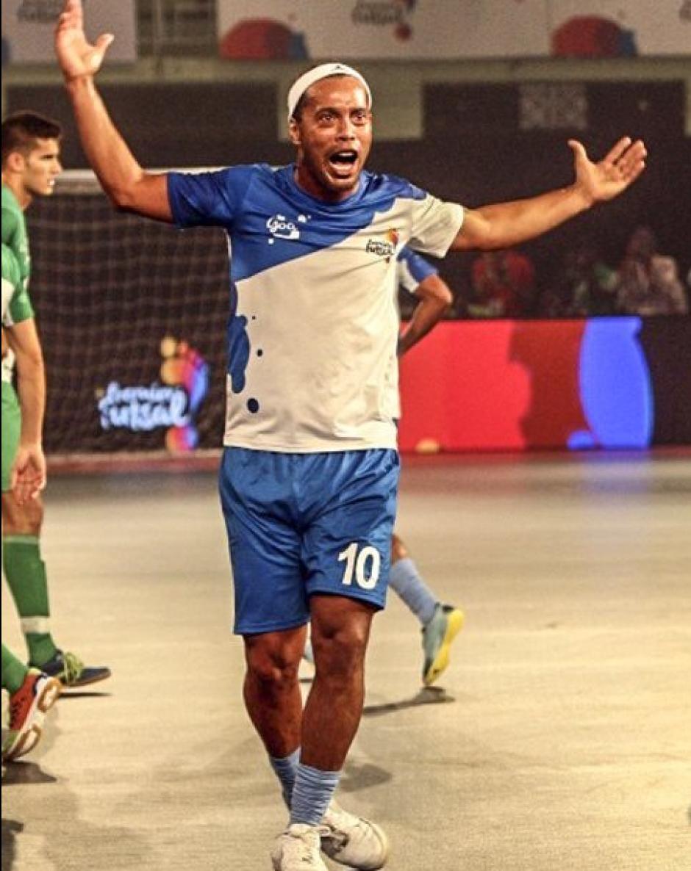 El brasileño, que hace una semana estaba en Guatemala, metió cinco goles. (Foto: Futsal Premier)