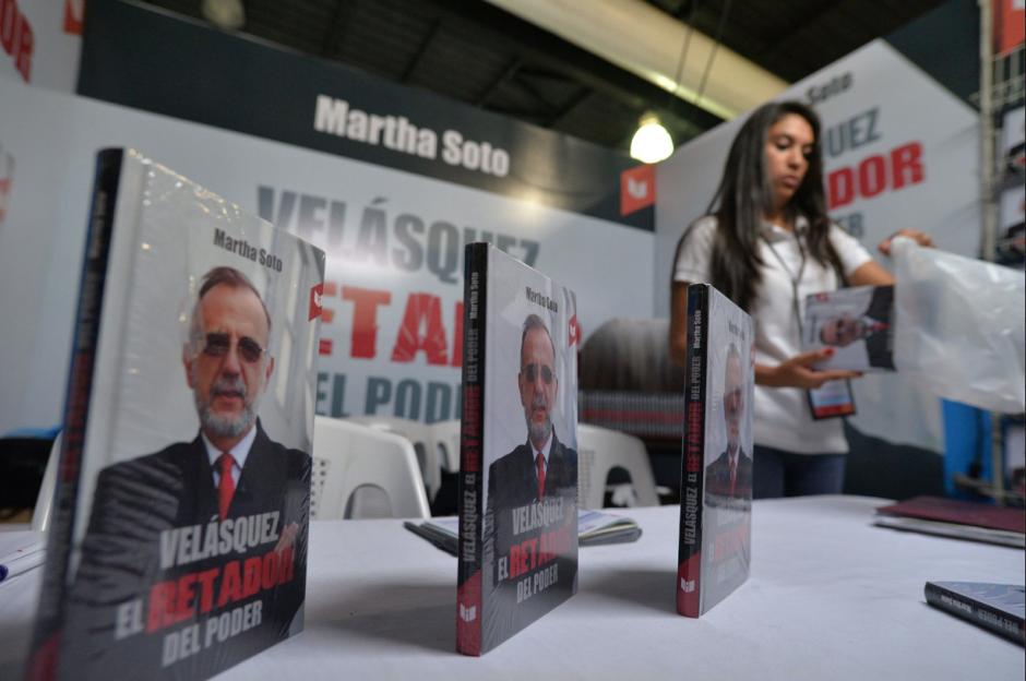 El libro ingresó al país el pasado viernes, según explicaron representantes editoriales. (Foto: Wilder López/Soy502)