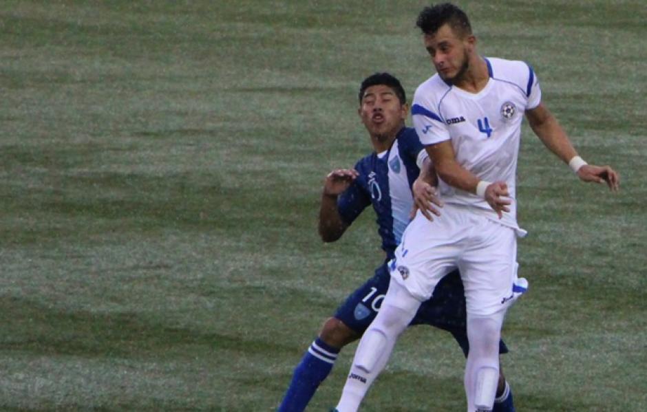 Altán sufrió un golpe en la cabeza durante el segundo tiempo del juego ante Nicaragua. (Foto: Delegado de ACD)