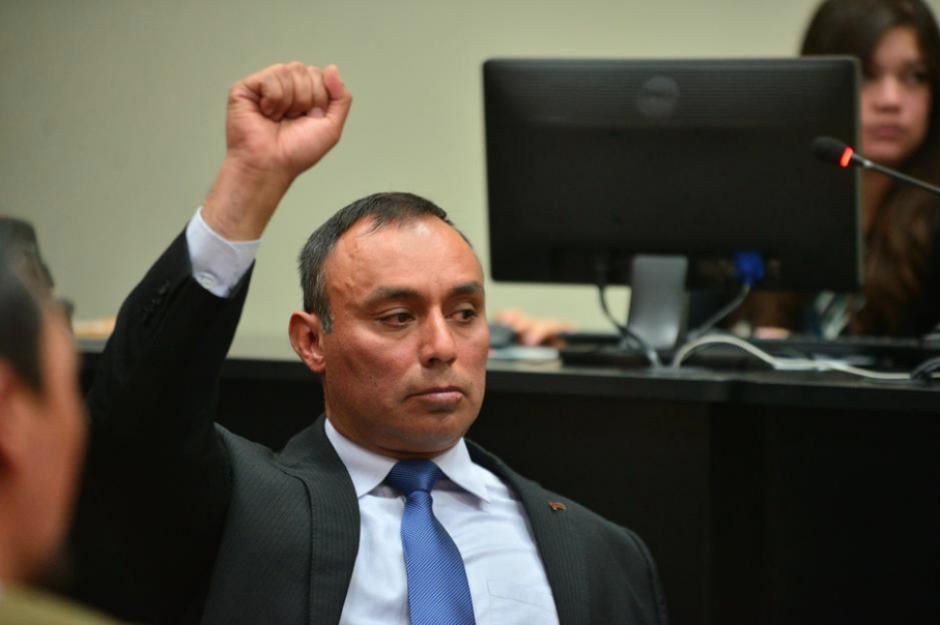 Byron Lima contaba con cuatro expedientes en diferentes juzgados, uno de ellos ya le había significado una condena. (Foto: Archivo/Soy502)