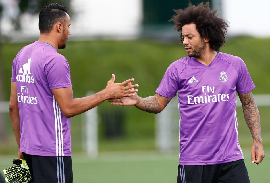 Marcelo, que no fue a la Copa América, sí estuvo presente. (Foto: RealMadrid.com)