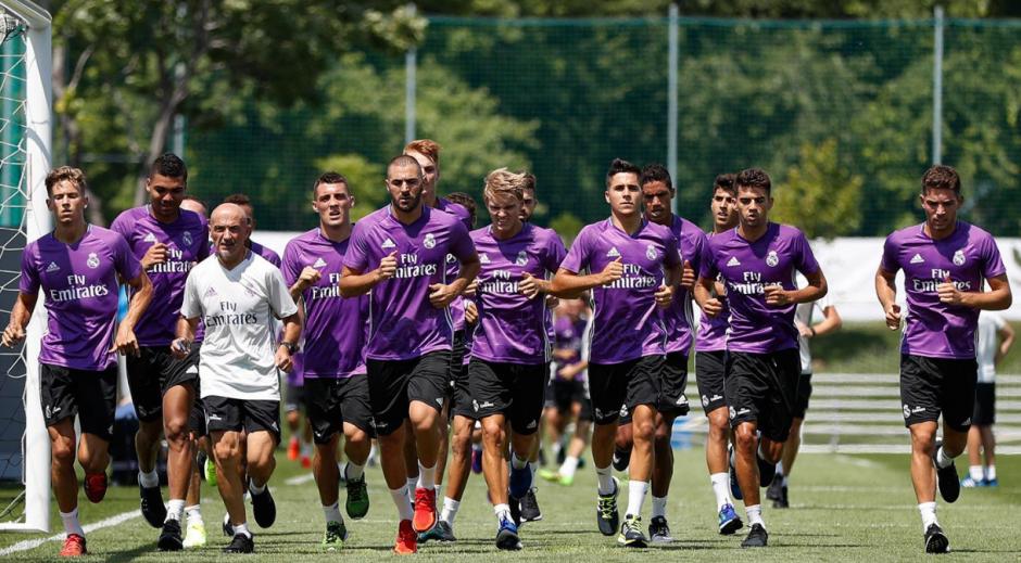El Real Madrid entrenó por primera vez esta pretemporada. (Foto: RealMadrid.com)