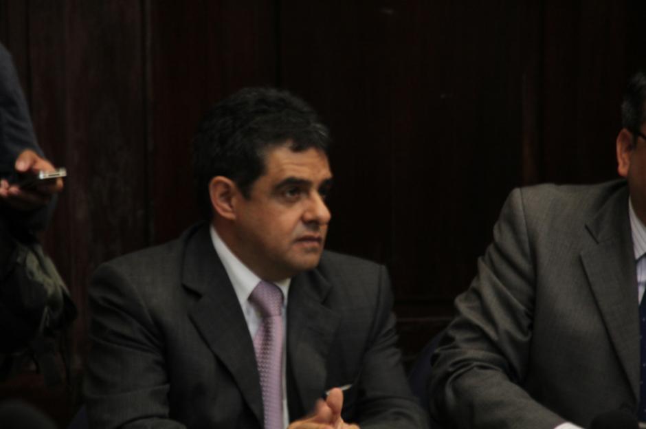 López fungió como Secretario Quinto de la Junta Directiva del Congreso en 2015. (Foto: Archivo/Soy502)
