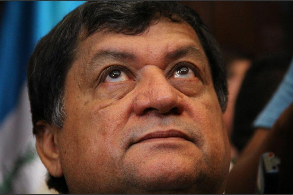 El abogado del exparlamentario presentó un recurso para solicitar que sea citado y no capturado pro el proceso en su contra. (Foto: Archivo/Soy502)