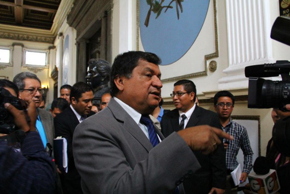 Baudilio Hichos es señalado de obtener un contrato de alquiler del IGSS en Chiquimula de manera fraudulenta. (Foto: Archivo/Soy502)