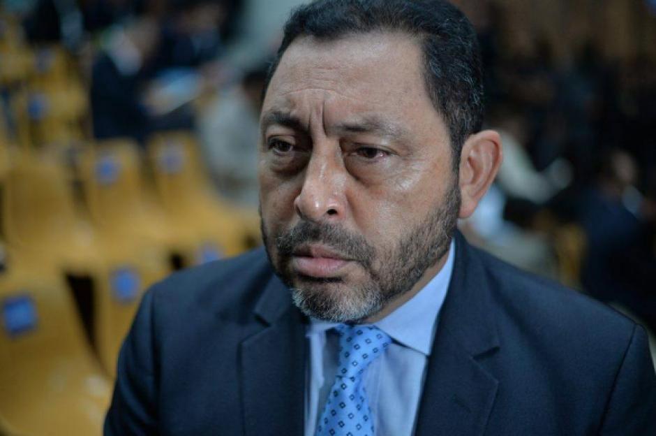 El reo también señaló al exministro de Gobernación, Mauricio López, de ser parte de una estructura criminal. (Foto: Archivo/Soy502)