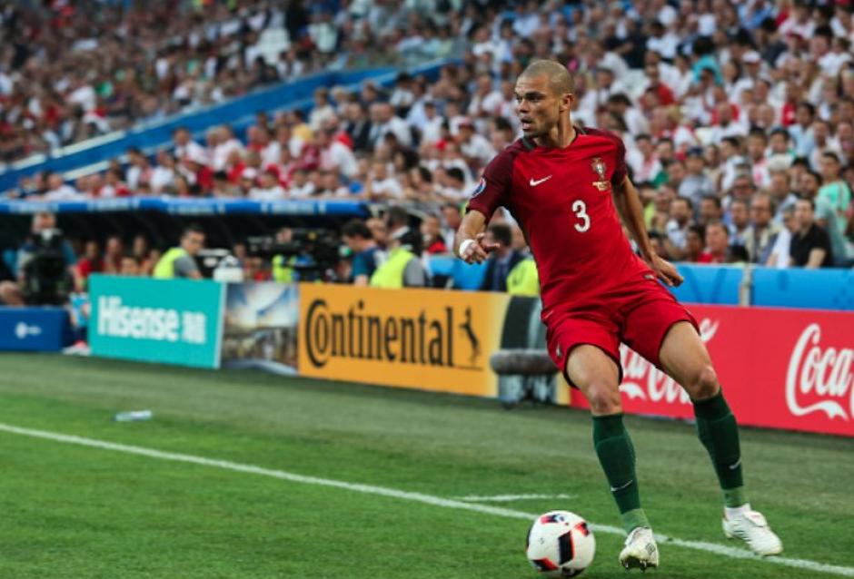 Pepe (Real Madrid/Portugal) (Foto: AFP)