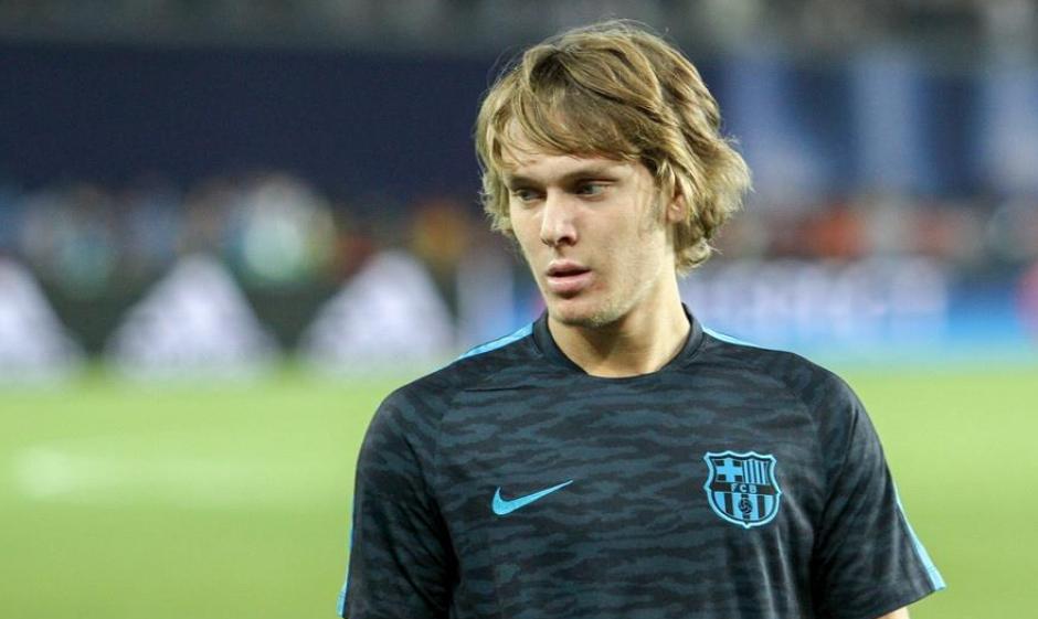 El joven croata no ha tenido oportunidades con Luis Enrique (Foto: FCB)