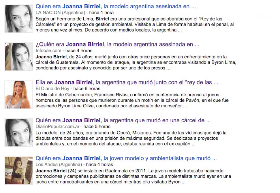 Los diarios argentinos fueron los que mayor cobertura le dieron a la noticia.