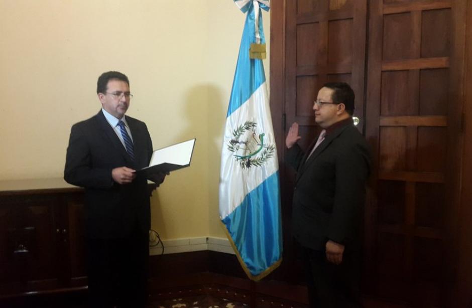 De León Zea fue juramentado el pasado 27 de enero. (Foto: DGSP)