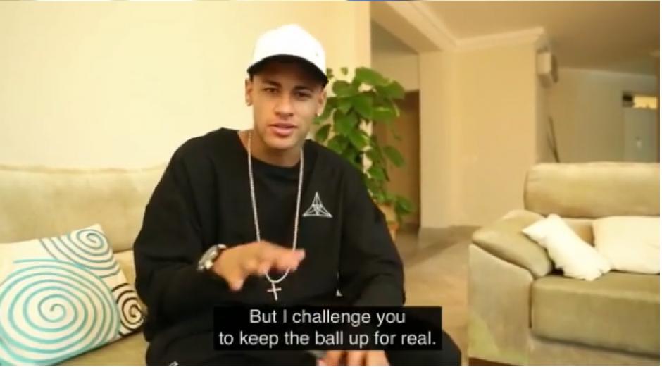 Ney reconoció la derrota y retó a Zuckerberg a un juego real dominando el balón. (Foto: Instagram)